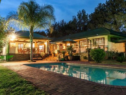 PEACEFUL ENVIRONMENT IN CLUBVIEW, CENTURION WITH LARGE WELL MANICURED GARDEN