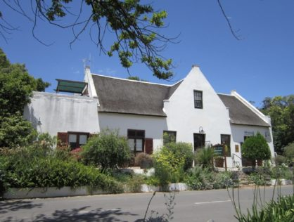 In the Heart of Tulbagh – Guesthouse & Restaurant